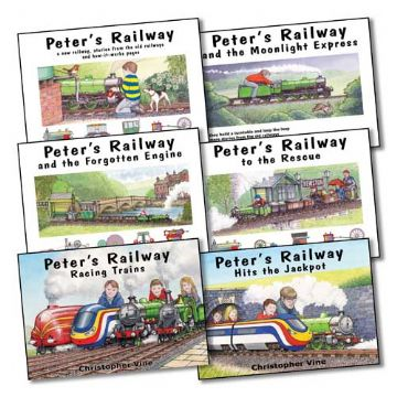 Peter's Railway <br> Bundle of 6 Hardback books